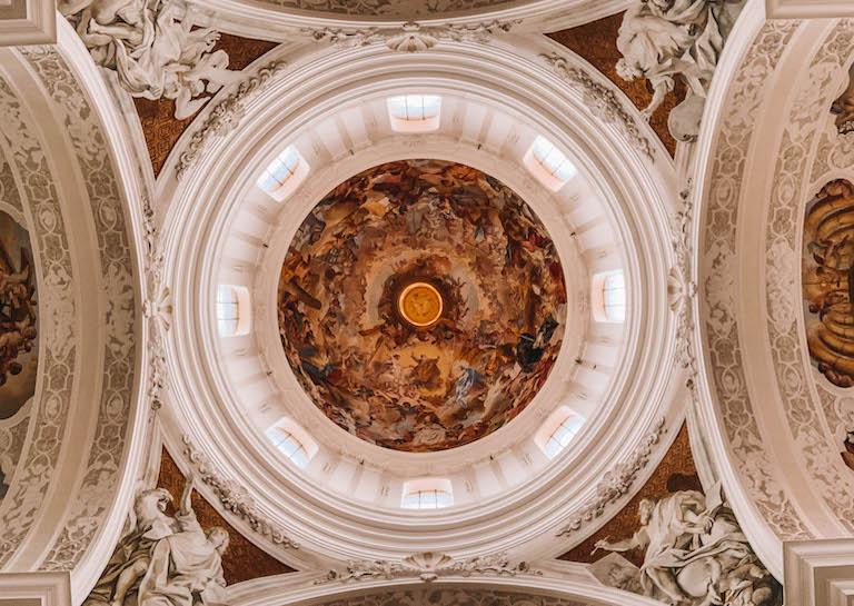 Basilika Weingarten Decke