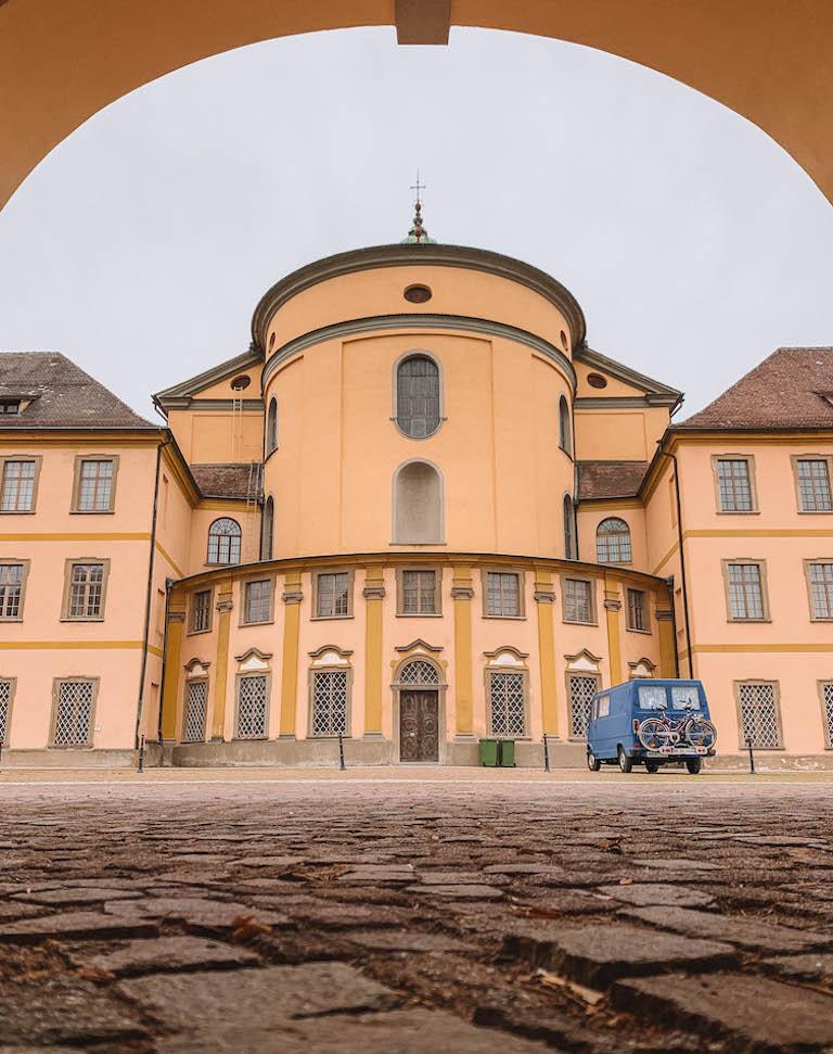Basilika Weingarten von hinten