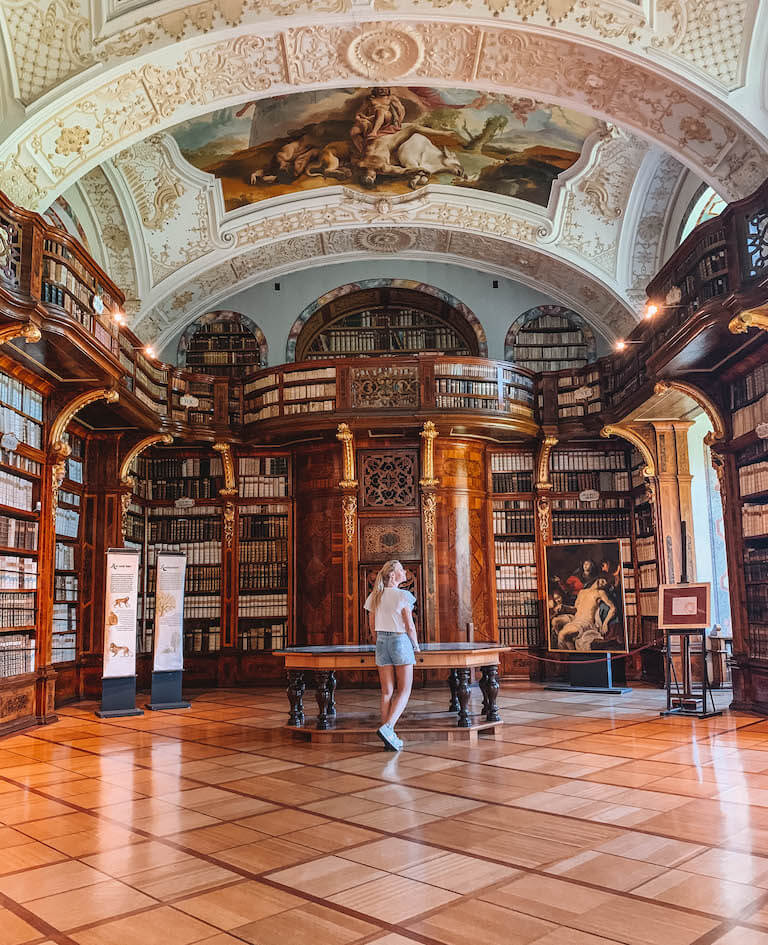 Bibliothek Stift Zwettl