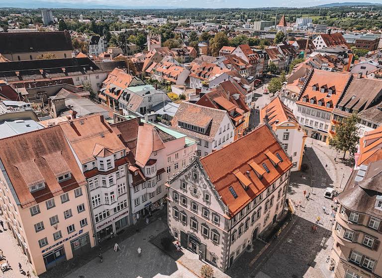 Blaserturm Ausblick Ravensburg Altstadt