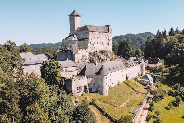 Burg Rapottenstein Drohne