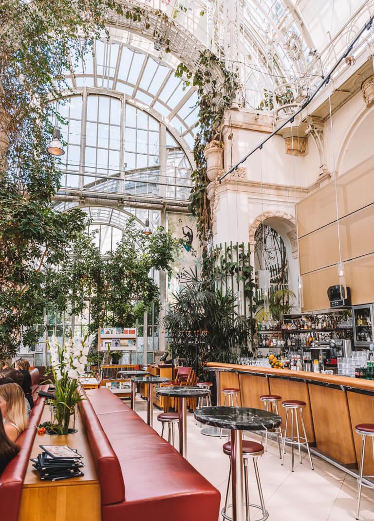 Das Palmenhaus Cafe in Wien