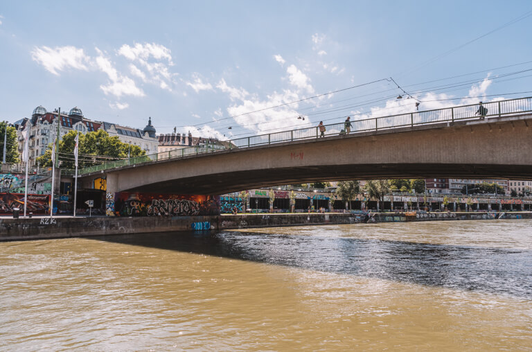 Donaukanal Promenade Vienna
