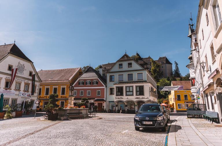 Grein an der Donau Marktplatz