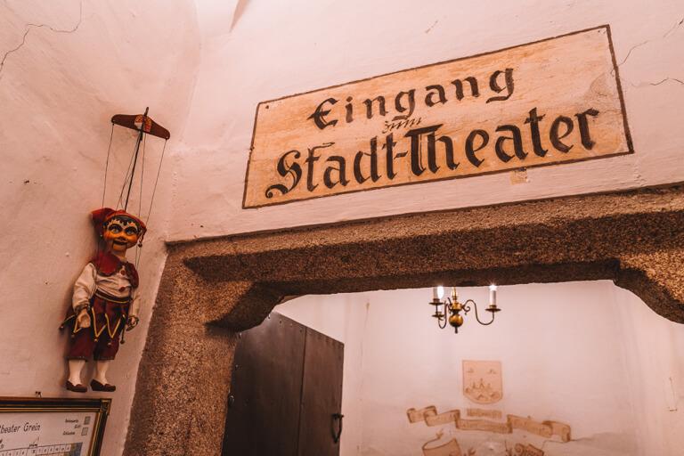Grein historisches Stadttheater