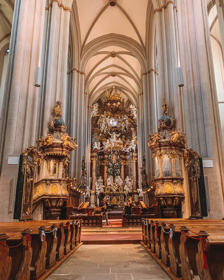 Kirche Stift Zwettl Niederoesterreich
