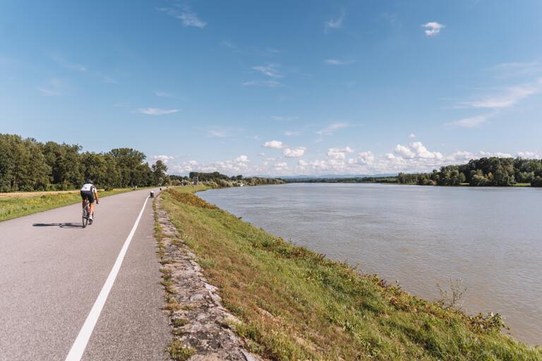 Machland Donau Radweg