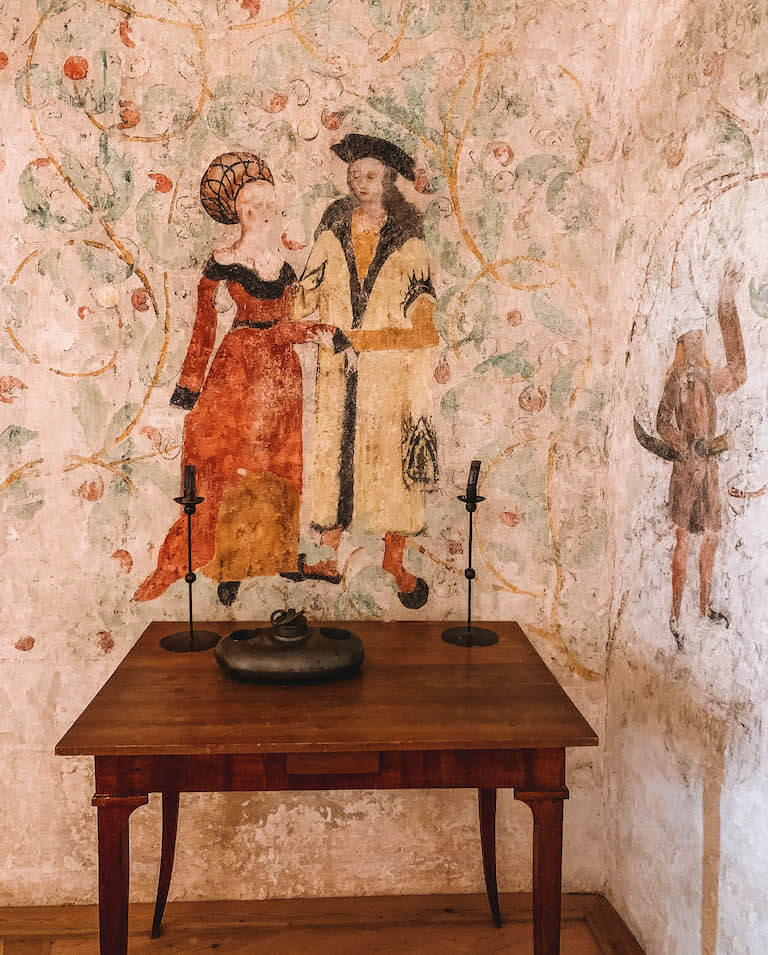 Malereien Burg Rapottenstein