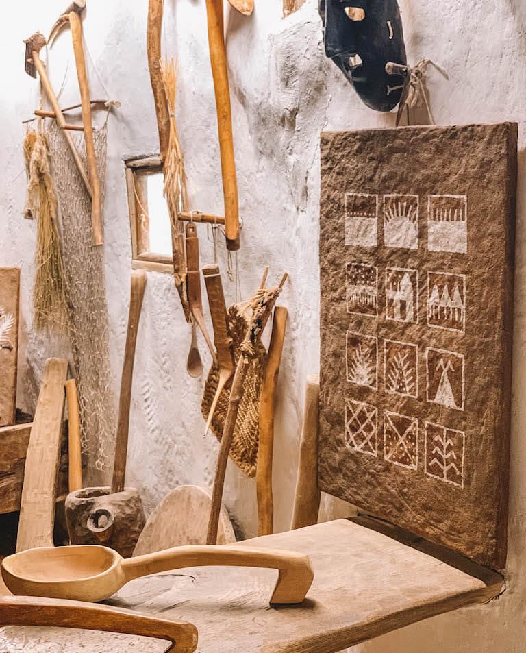 Pfahlbautenmuseum Langenargen Werkzeuge