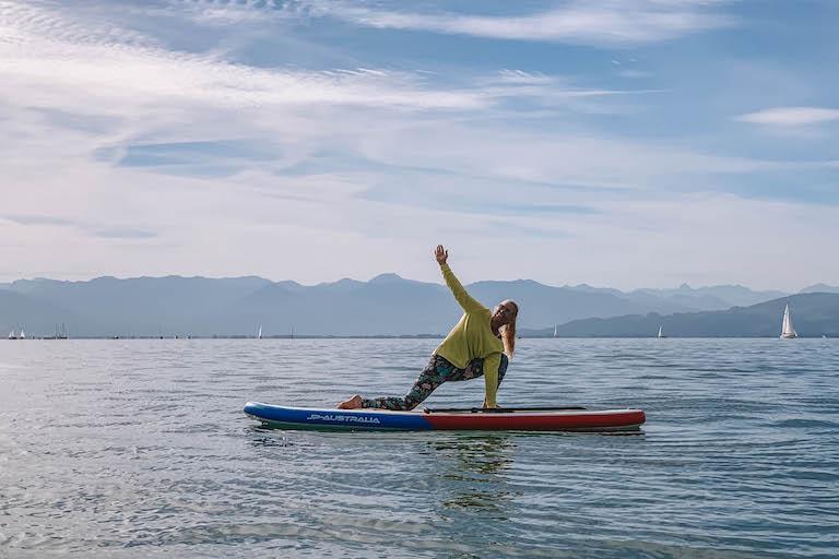 SUP Yoga Bodensee Langenargen