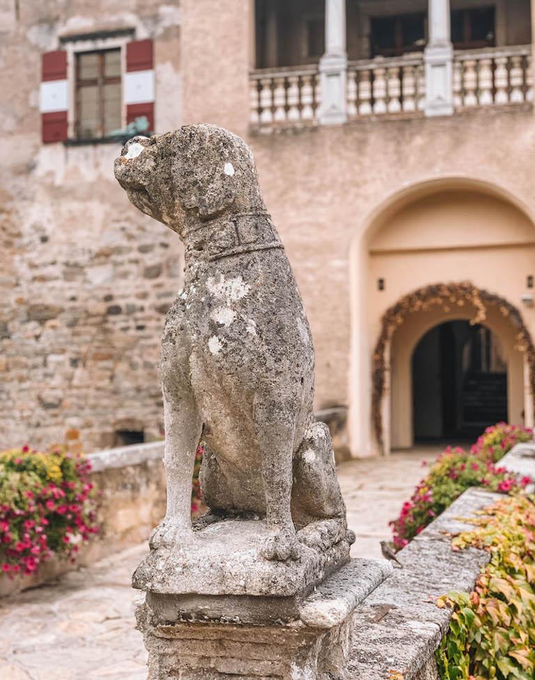 Schloss Ottenstein Hund