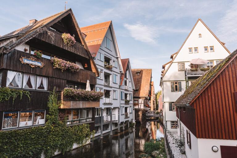 Ulm Sehenswuerdigkeiten Fischerviertel