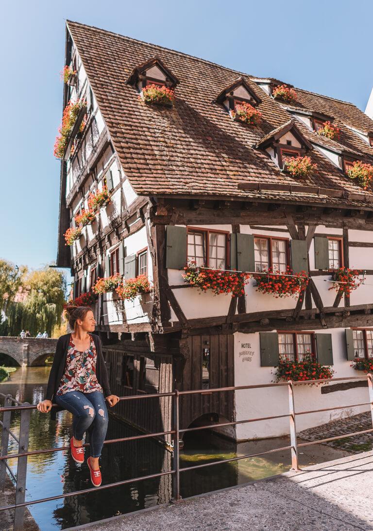 Ulm Sehenswuerdigkeiten Schiefes Haus