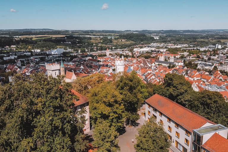Ravensburg Drohne Veitsburg