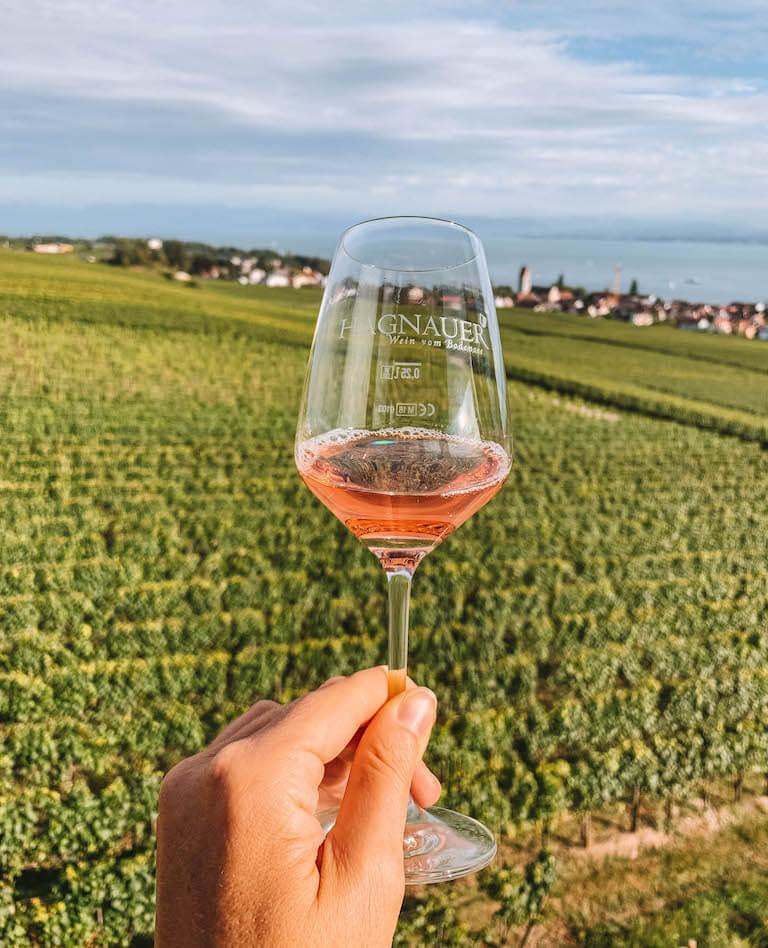 Weinprobe Hagnau Bodensee