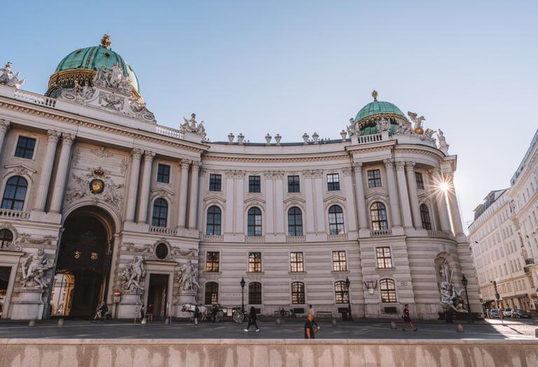 Wien Sehenswuerdigkeiten Hofburg
