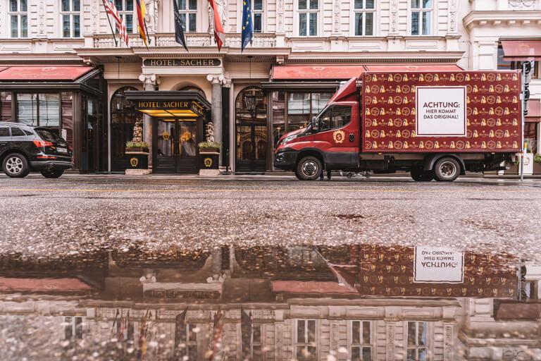 Wien Sehenswuerdigkeiten Hotel Sacher