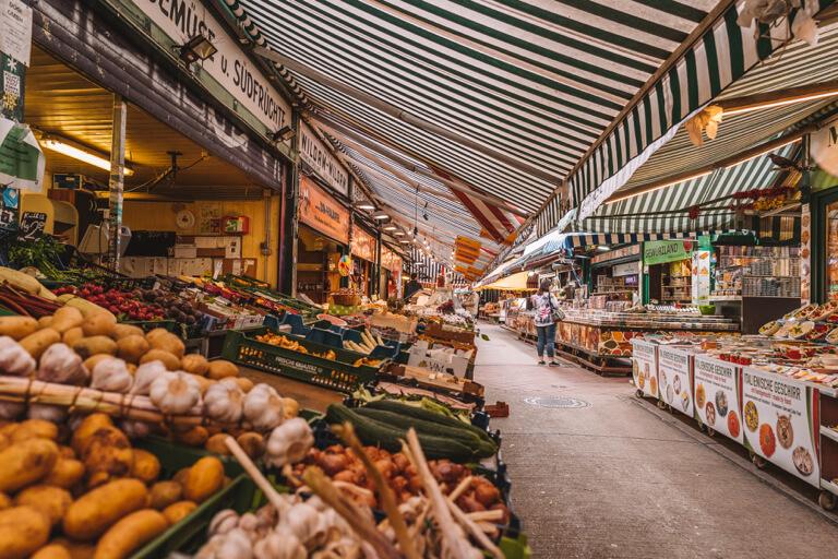 Wien Sehenswuerdigkeiten Naschmarkt
