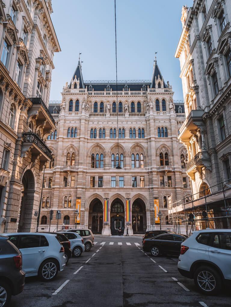 Wien Sehenswuerdigkeiten Rathaus