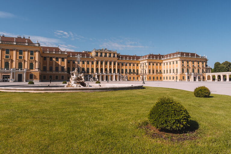 Wien Sehenswuerdigkeiten Schloss Schoenbrunn