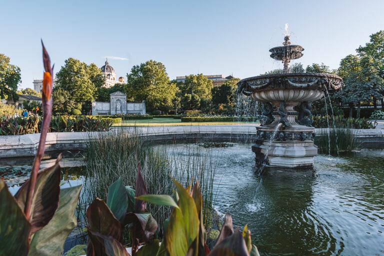 Wien Sehenswuerdigkeiten Volksgarten
