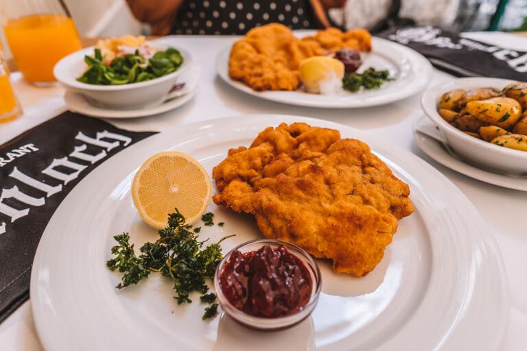 Wiener Schnitzel Ofenloch