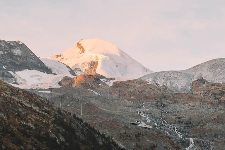 Allalin Gletscher Saas Fee