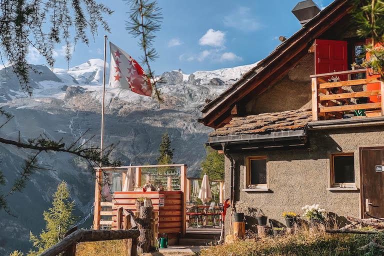 Alpenblick Saas Fee