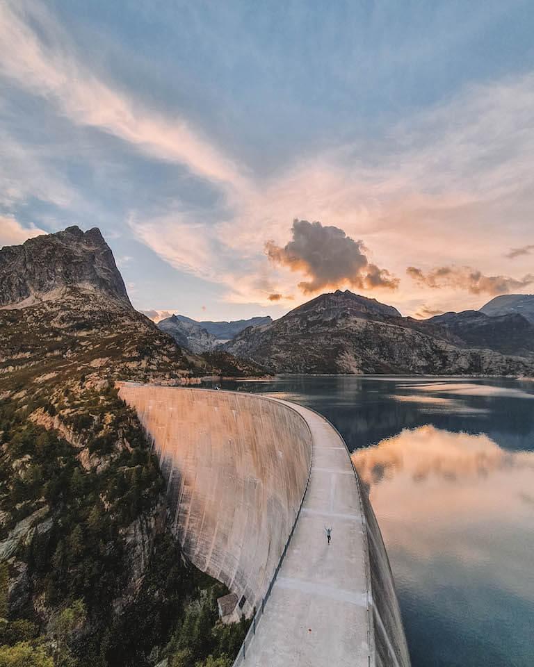 Ausflugsziele Schweiz Lac d Emosson