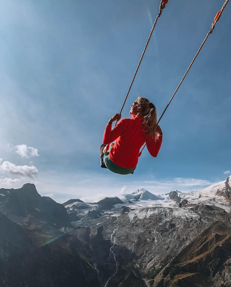 Ausflugsziele Schweiz Saas Fee