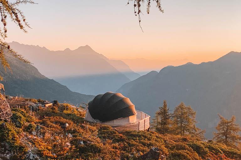 Ausflugsziele Schweiz Verticalp Camp Wallis