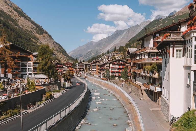 Ausflugsziele Schweiz Zermatt