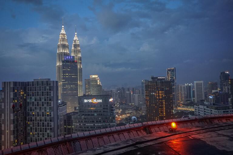 Kuala Lumpur Petronas Towers Helikopter Bar