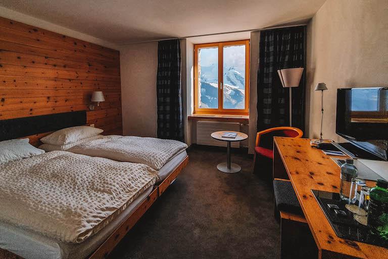 Kulmhotel Gornergrat Zimmer