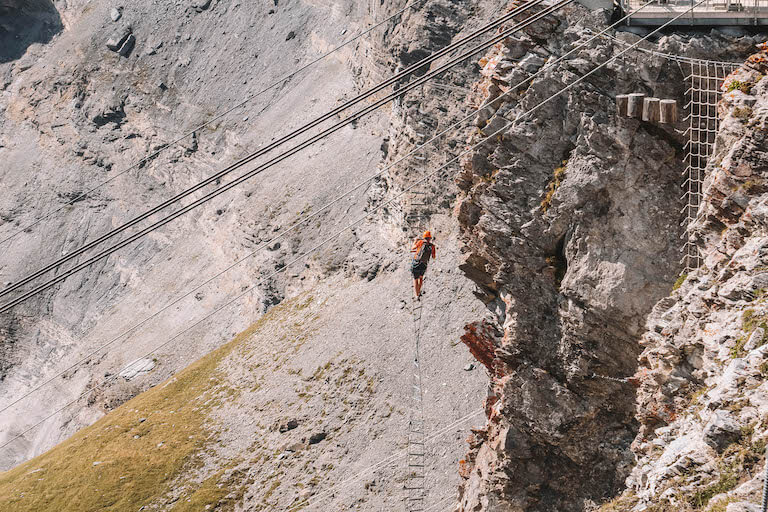 Leukerbad Klettern