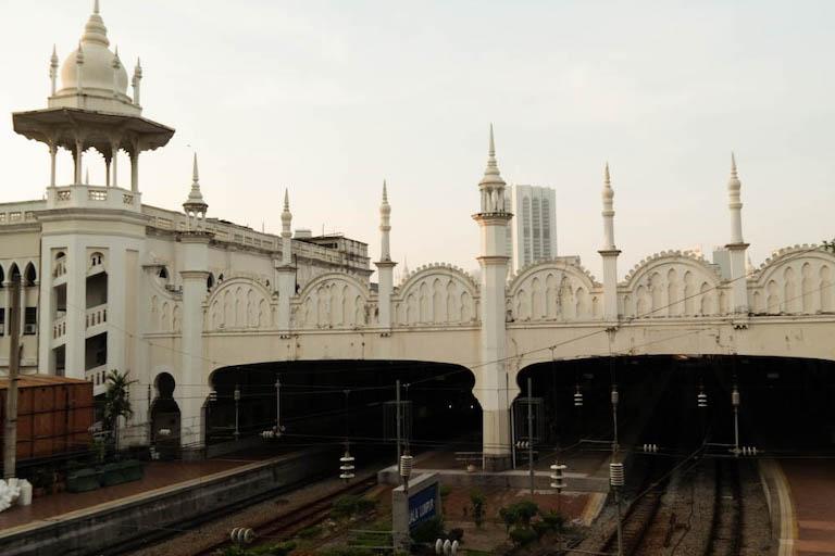 Malaysia Sehenswuerdigkeiten Alter Bahnhof