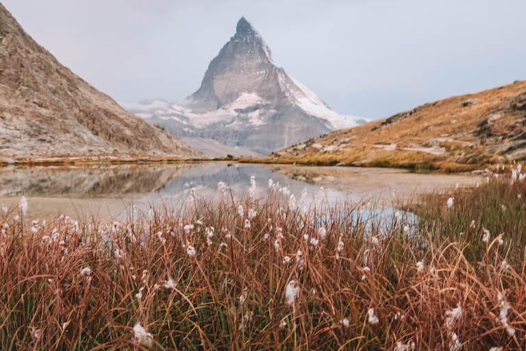 Matterhorn Riffelsee Zermatt