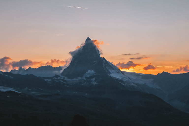 Matterhorn Sonnenuntergang