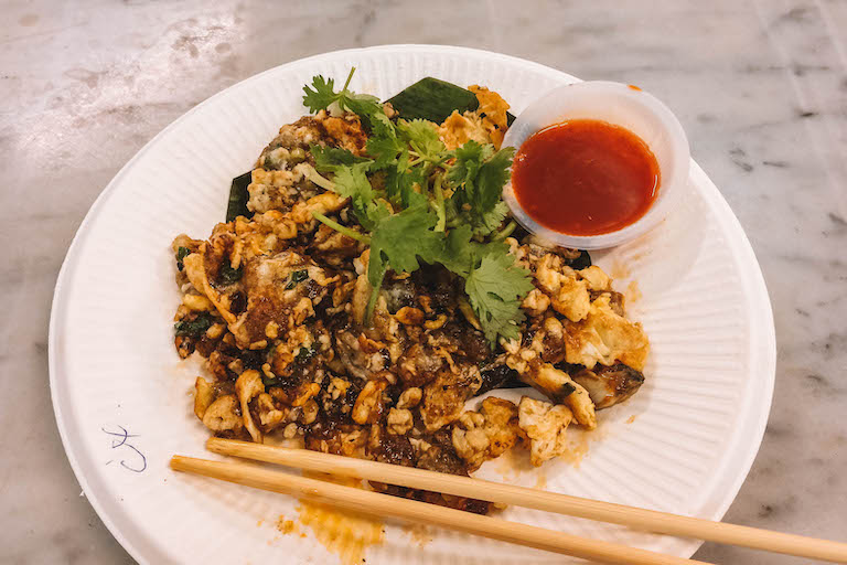 Oyster Omelette Malaysia