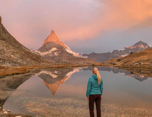 Riffelsee Sonnenaufgang Zermatt