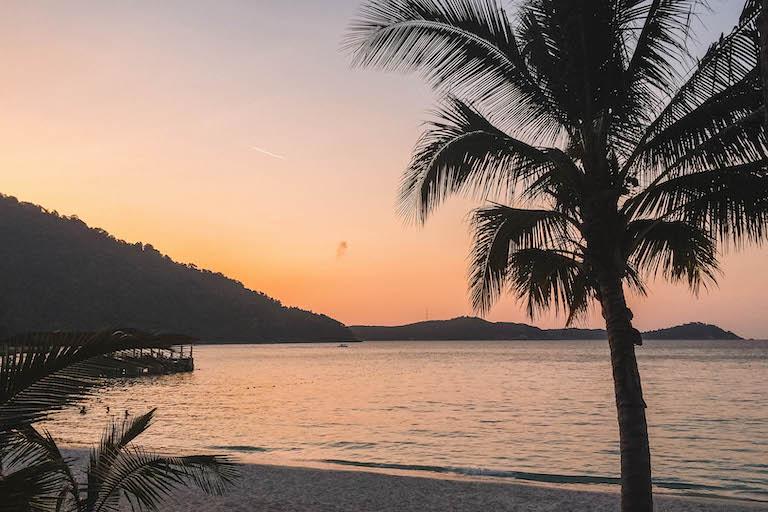 Sonnenuntergang Malaysia