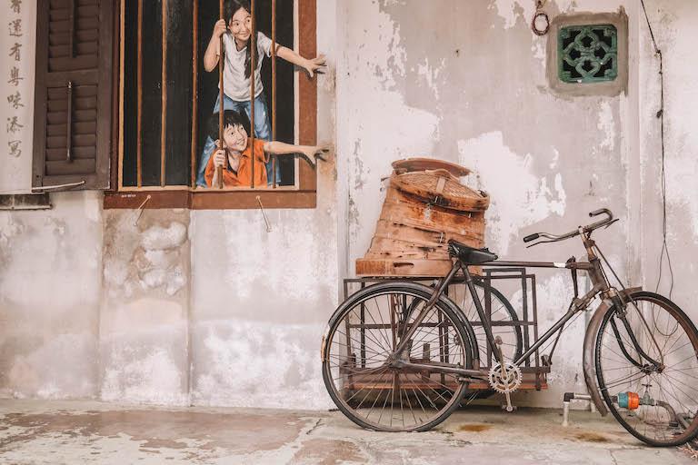 Sehenswuerdigkeiten Malaysia Streetart Penang