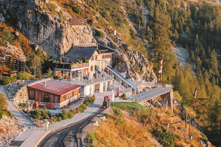Vertic alp Cafe Vallee du Trient