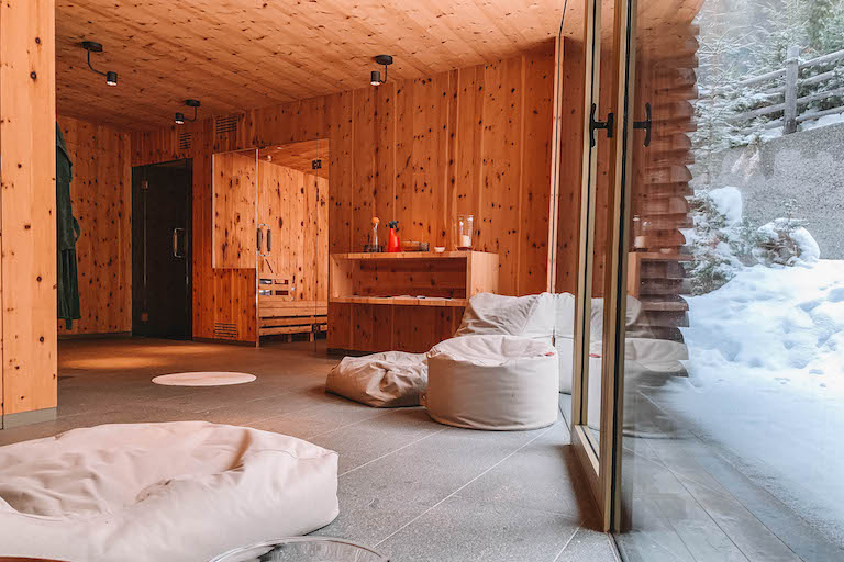 Odles Lodge Sauna