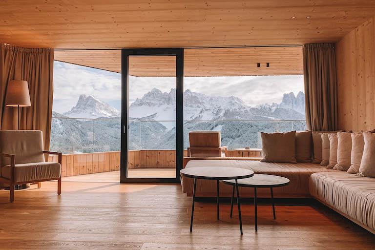 Penthouse Suite Forestis Dolomites