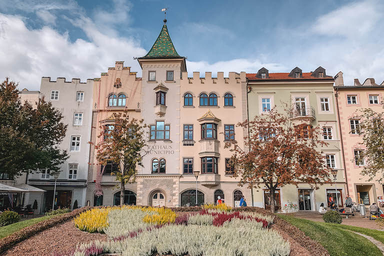 Rathaus Brixen Suedtirol