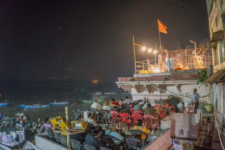 Ganga Aarti Varanasi Indien