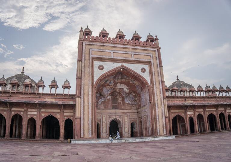 Indien Sehenswuerdigkeiten Delhi Jama Masjid Moschee