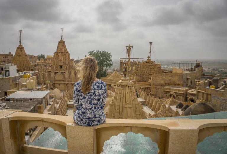 Indien Sehenswuerdigkeiten Jaisalmer Rajasthan Jain Tempel