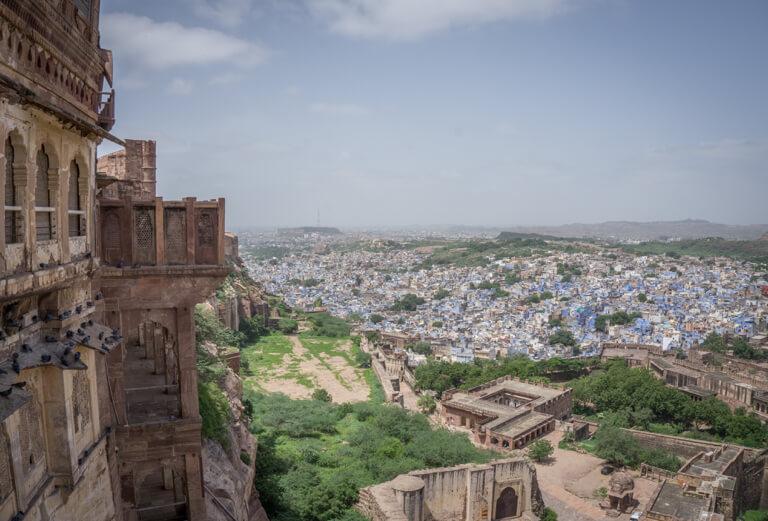 Indien Sehenswuerdigkeiten Rajasthan Blaue Stadt Jodhpur